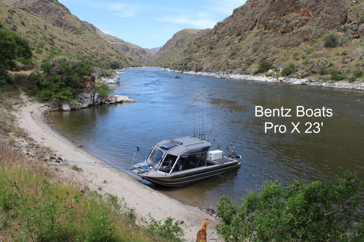 Bentz Boats Pro X 23 foot custom jet boat