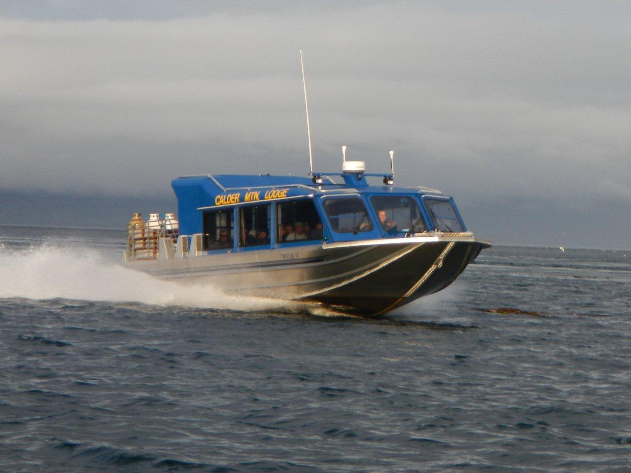 35′ Twin Diesel Tour Boat