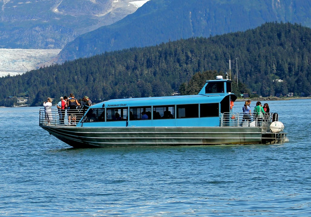 44′ Triple Diesel Whale Watching Tour Boat