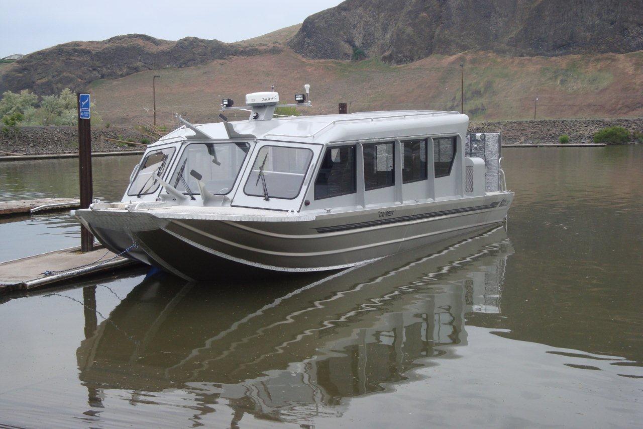 40′ Triple Diesel Passenger, Freight Boat