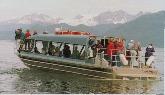 40′ Triple Diesel Whale Watching Tour Boat