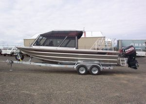 25′ Twin Outboard