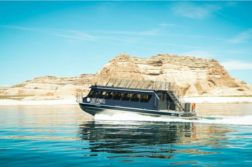 50' Tour Boat Lake Powell